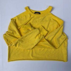 Shein Cropped Sweatshirt
